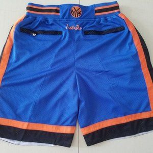 New Just Don New York Knicks Basketball Shorts2